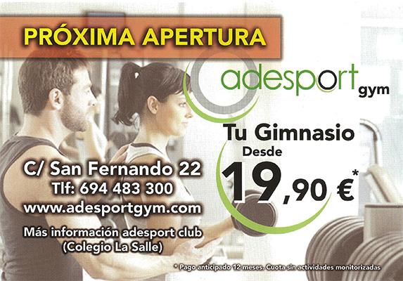 Apertura de adesport gym puerto real hoy puerto real hoy for Gimnasio 360 puerto real