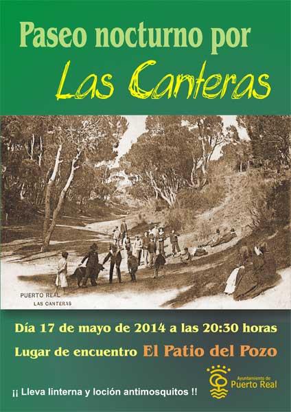 Nuevo paseo nocturno por las canteras puerto real hoy - Las canteras puerto real ...