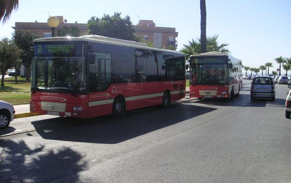 Autobuses urbanos de Puerto Real