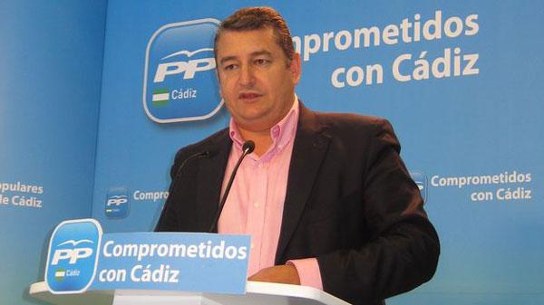 Antonio Sanz en rueda de prensa.