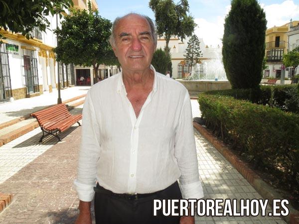 Francisco Pérez Aguilar, durante una entrevista de PRH.