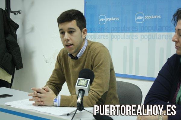 Samuel Carreño, miembro del PP Puerto Real