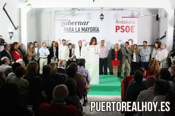 Acto de Campaña del PSOE en las Elecciones de 2015.