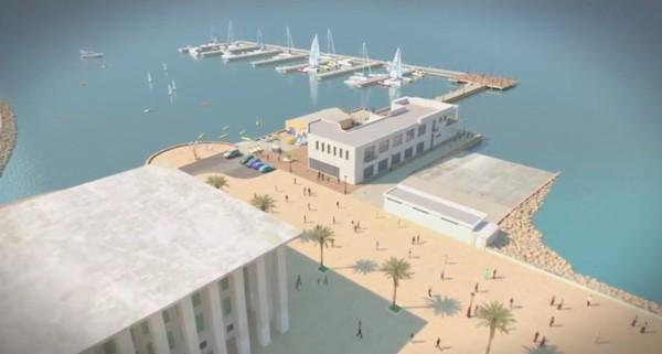 Proyecto de nuevo puerto náutico en la Puntilla del Muelle.