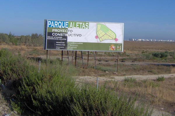 Cartel de Las Aletas