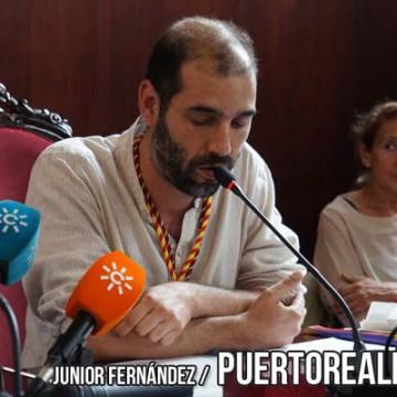 Imagen de la investidura de Romero en el año 2015.