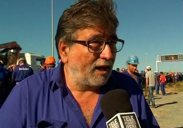 Antonio Noria, Presidente del Comité de Empresa de Navantia en Puerto Real.