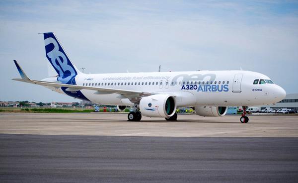 Modelo A320Neo de Airbus