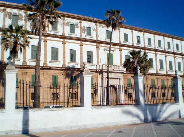 Edificio Valcárcel, en Cádiz