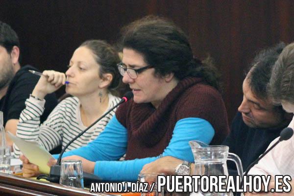 Encarna Marín, en un Pleno en Noviembre