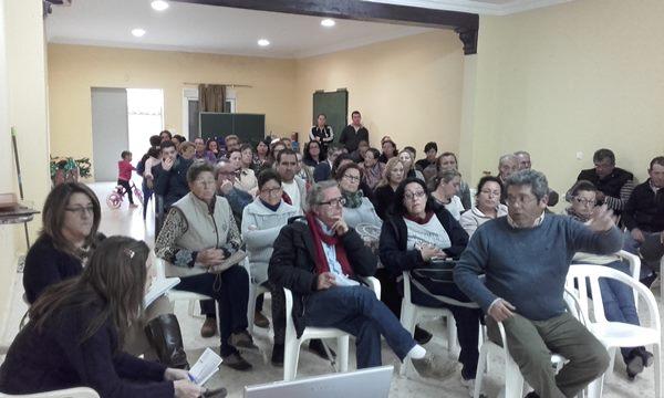 Asamblea de Zona en El Marquesado.