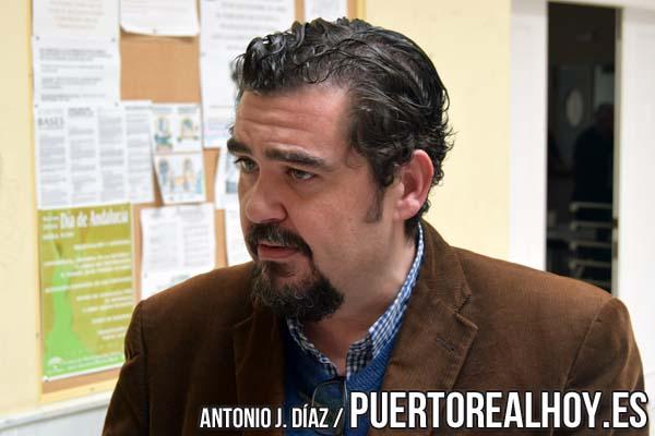 Manuel J. Parodi durante la entrevista