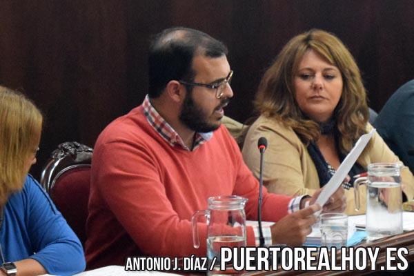 Carlos Salguero, en su intervención en un Pleno