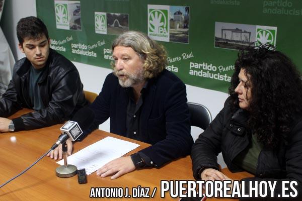 Jesús Plaza en rueda de prensa en el Ayuntamiento