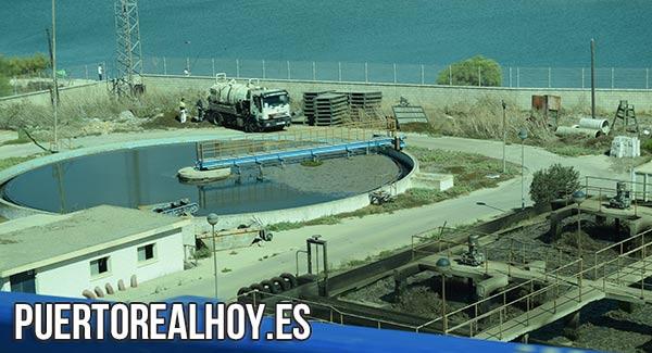 Estación Depuradora de Puerto Real, en el Río San Pedro