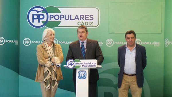 Antonio Sanz, Delegado del Gobierno en Cádiz