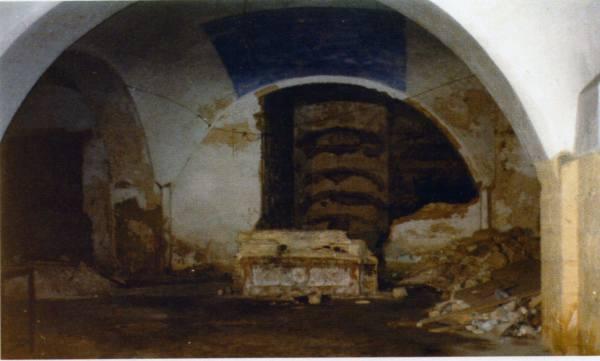 Cripta de la Iglesia de San Sebastián