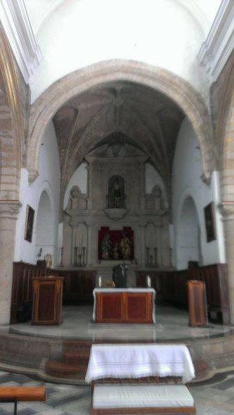 Prebisterio de la Iglesia de San Sebastián