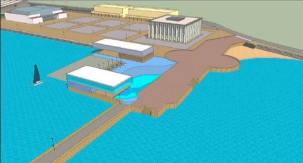 Proyecto de transformación de la Puntilla del Muelle por la Autoridad Portuaria Bahía de Cádiz.