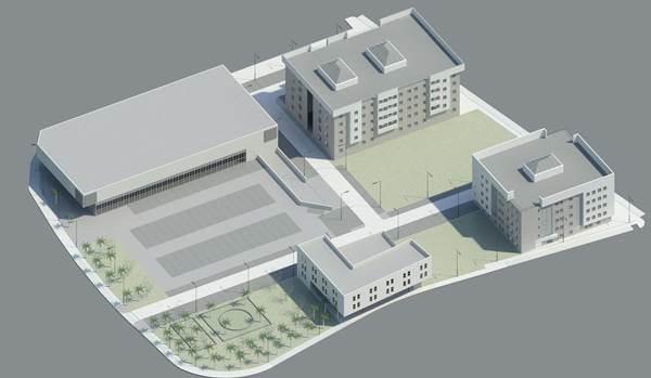 Imagen del proyecto inicial para la parcela del María Auxiliadora