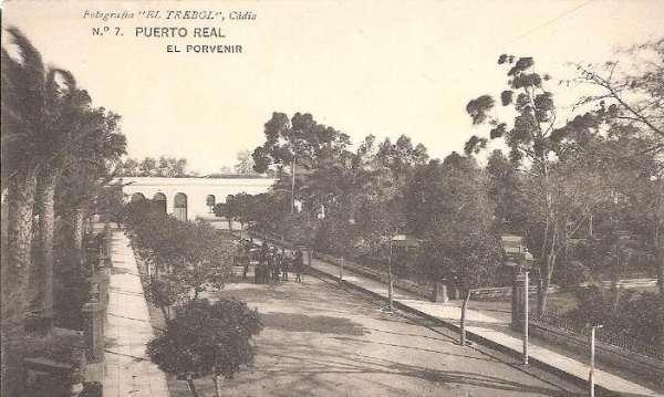 """Jardines de """"El Porvenir"""" de Puerto Real"""