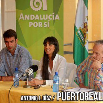 Presentación de la Gestora Local de Andalucía Por Sí en Puerto Real