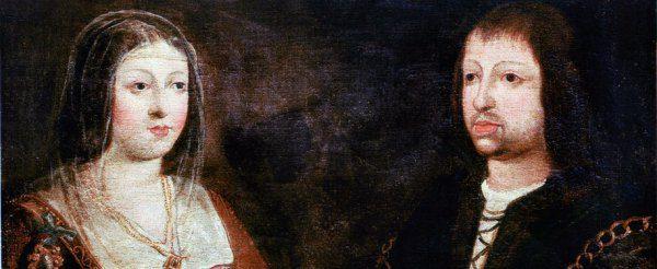 Los Reyes Católicos, fundadores de la Real Villa de Puerto Real.