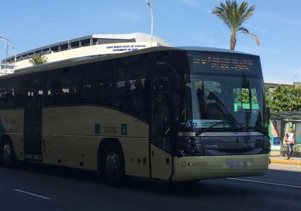 Autobús interurbano entre Cádiz y Puerto Real