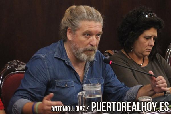 Jesús Plaza durante un Pleno en Noviembre