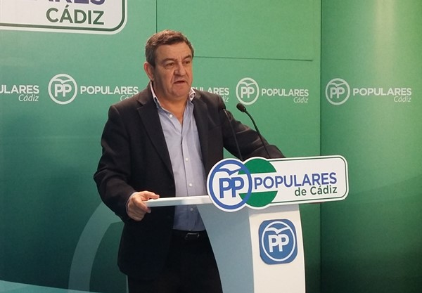 Juan José Loaiza, del PP de Cádiz