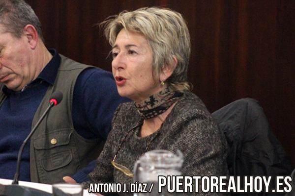 María Merello durante una sesión plenaria.