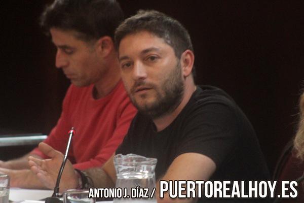 Juan Antonio Pontones, Concejal del Ayuntamiento de Puerto Real.