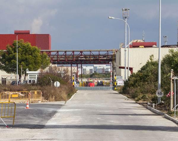 Fábrica de Delphi en Puerto Real