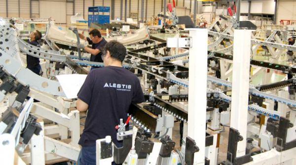 Trabajadores de Alestis Aerospace