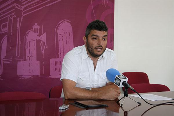 Antonio Villalpando, en rueda de prensa