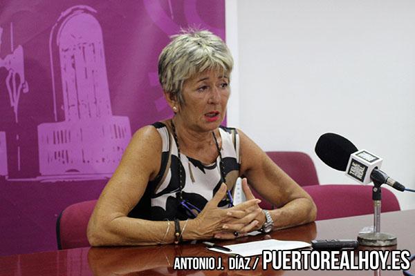 María Merello en rueda de prensa