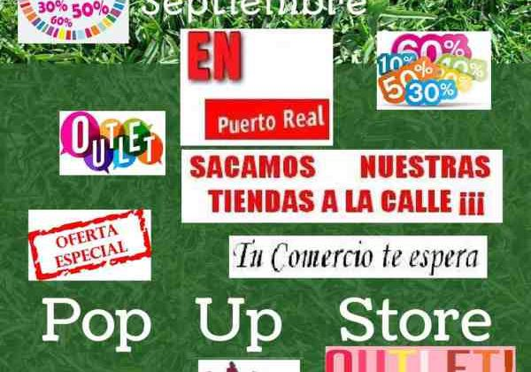 Cartel del Sal a la Calle II de ACE Puerto Real