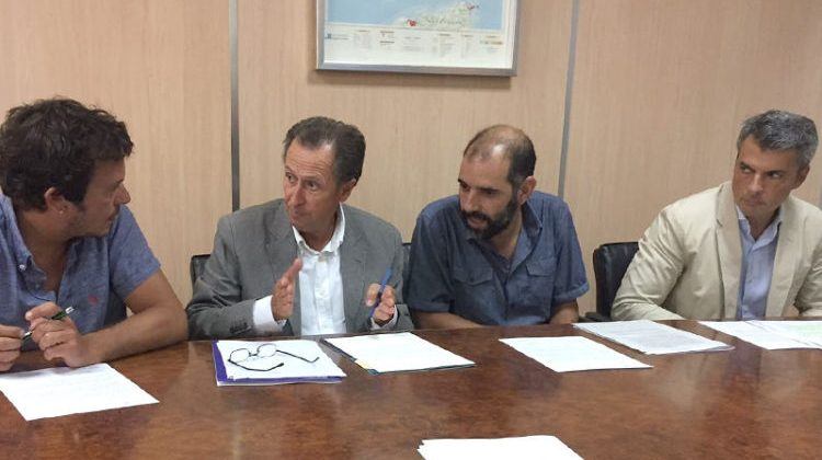 Alcaldes de la Mancomunidad de Municipios Bahía de Cádiz