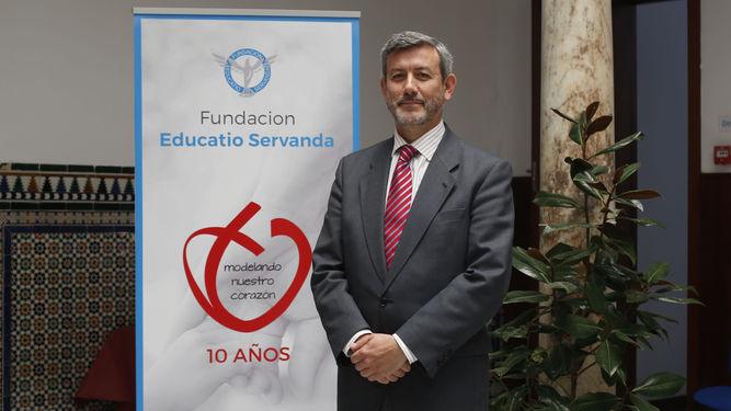 José María Castón, Gerente de la Fundación Educatio Servanda en Cádiz y Ceuta