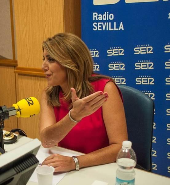Susana Díaz, en la Cadena SER