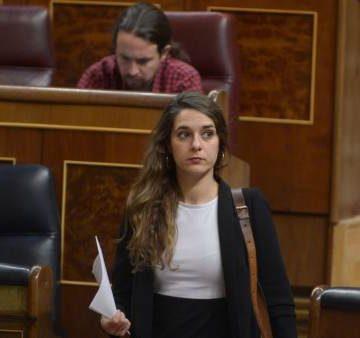 Noelia Vera en el Congreso de los Diputados