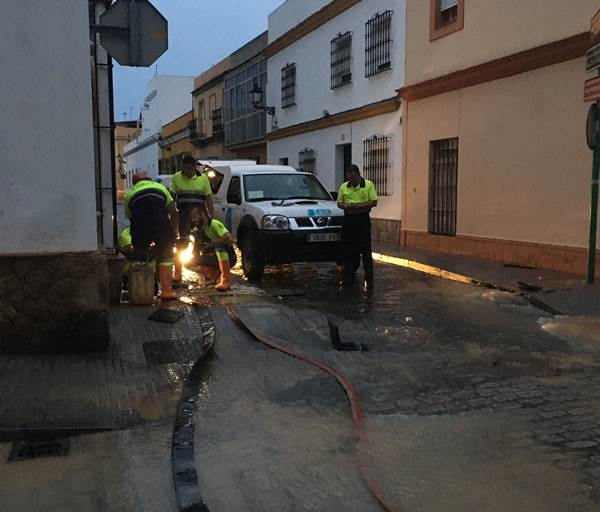 Avería de agua en Puerto Real