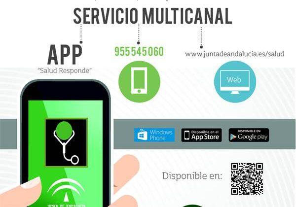 Nuevo número para Salud Responde de la Junta de Andalucía