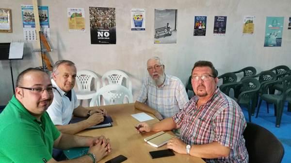 Reunión de AxSí y la Plat. Vecinal de Casines