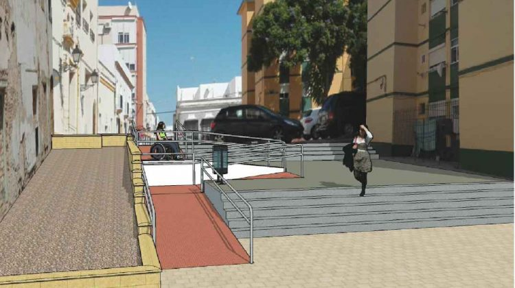 Actuación del Plan Invierte en la Calle Victoria