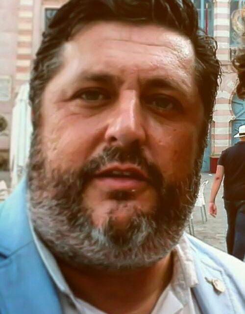 Jesús Godino, autor del cartel de Semana Santa