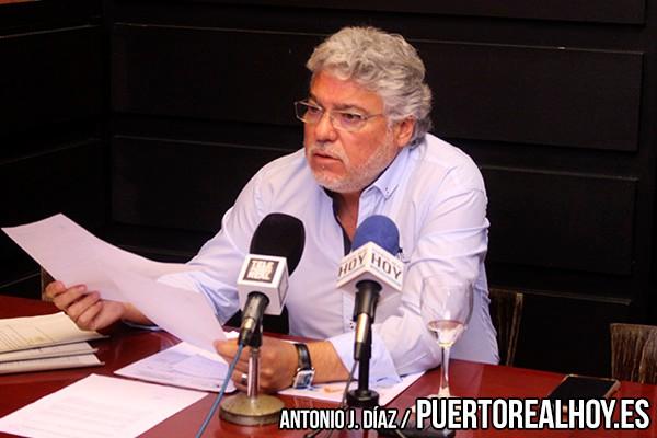 Andrés Rodríguez durante una rueda de prensa
