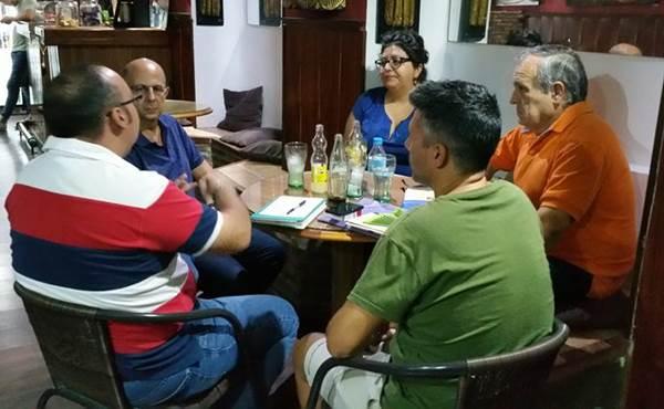 Directivos de ACE Puerto Real y AxSí Puerto Real