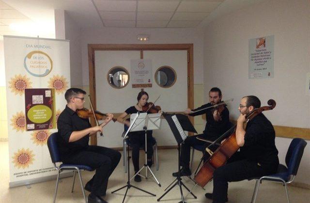 La Orquesta Joven de Chiclana en el Hospital de Puerto Real