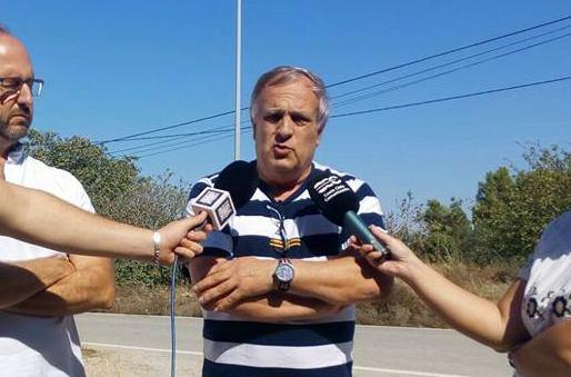 Vicente Fernández en rueda de prensa
